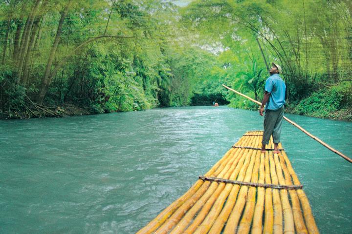 Martha Brae Rafting with Man